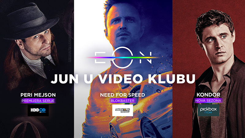 Dočekujemo leto uz nove atraktivne sadržaje u EON Video klubu