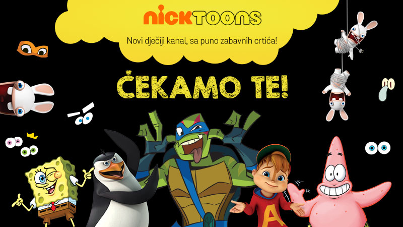 Nicktoons od sada na Total TV