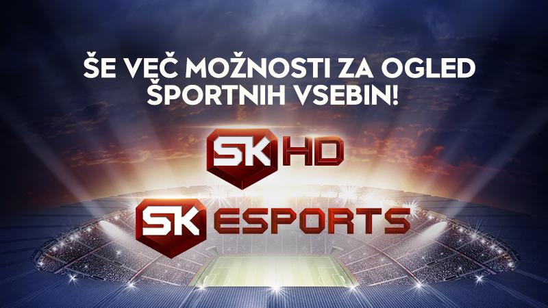 Še več možnosti za ogled športnih vsebin na TOTAL TV