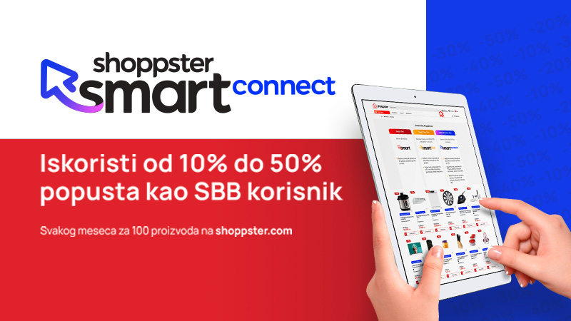 Fantastična ponuda samo za TOTAL TV korisnike – Shoppster Smart Connect