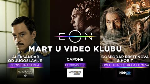 Ekskluzivno Aleksandar od Jugoslavije u Video klubu preko EON aplikacije