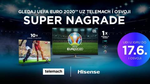 Telemach Crna Gora je u saradnji sa kompanijom Hisense organizovao veliku nagradnu igru za sve svoje korisnike