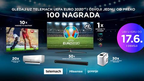 Učestvujte u velikoj Telemach BH i Hisense Gorenje nagradnoj igri