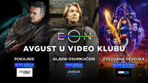 Letnji hi(n)t: Pogledajte šta donosi EON Video klub u avgustu