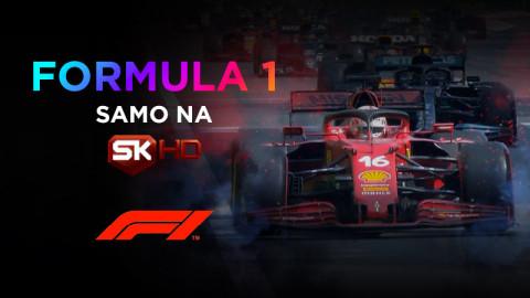 Ekskluzivno: Formula 1 odslej na SK HD